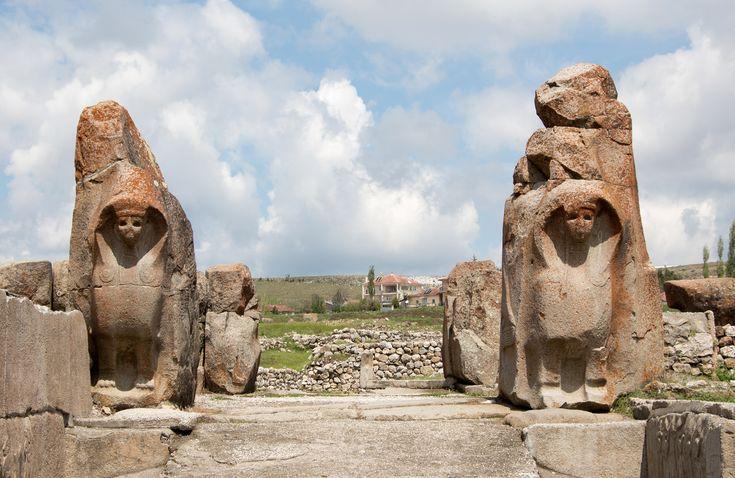HITTITE EMPIRE   5 ancient sites of the Hittite Empire: Alacahöyük