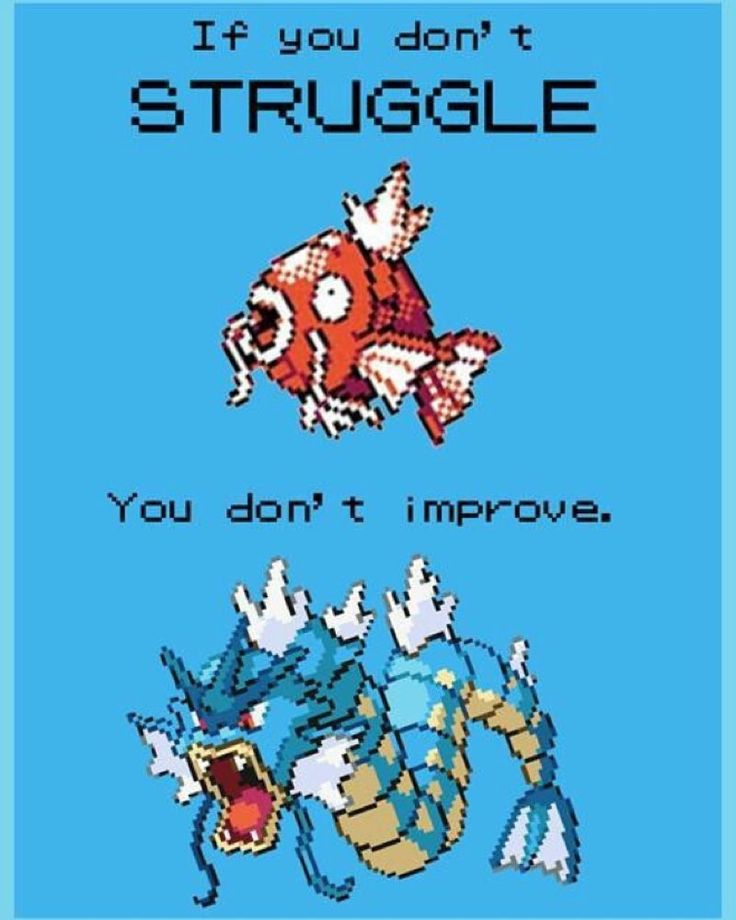 the_avatar_lives: #magicarp #magikarp #pokemon #pokémon #nintendo #DS #gameboy #3ds #2ds #gyrados #stuggle #improve #gameboy #microobbit