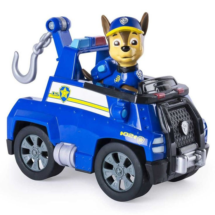 Paw Patrol Chase's Tow Truck with Figure-Toy Universe