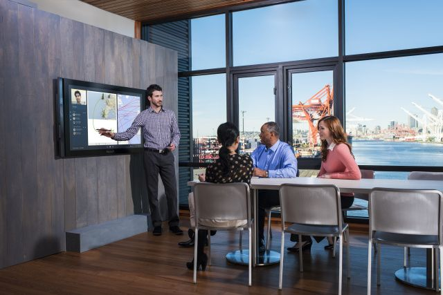 With a Surface Hub everyone at a meeting will be interested and engaged and not…