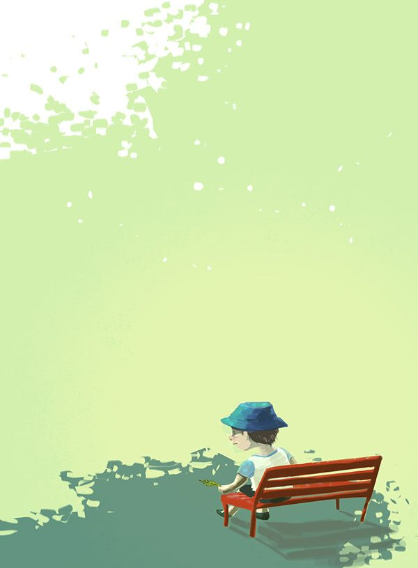 Sketch of Today by Roberto Martinelli on Behance A leaf may appear a great thing if you're new in this world!
