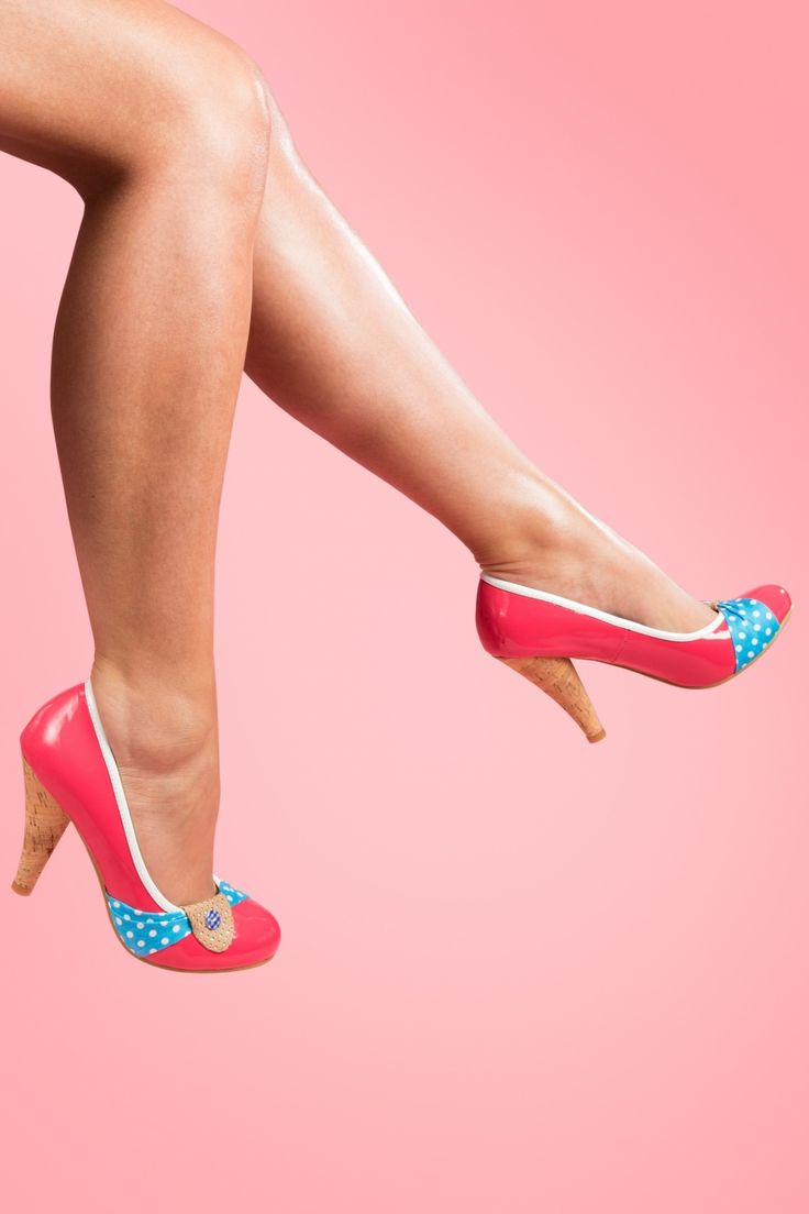 Dolly Do - Susy Candy Pink Cork pumps