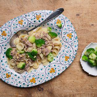 Rezept von Christian Henze: Orecchiette mit Thunfisch & Brokkoli