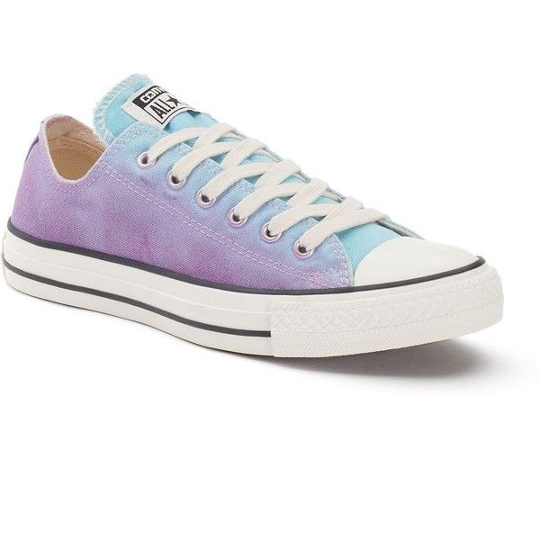Women's Converse Chuck Taylor All Star Sneakers, Adult Unisex, Size:... (£39) ❤ liked on Polyvore featuring shoes, sneakers, motel pool purple, purple shoes, unisex shoes, tie-dye shoes, purple sneakers and tie dye shoes
