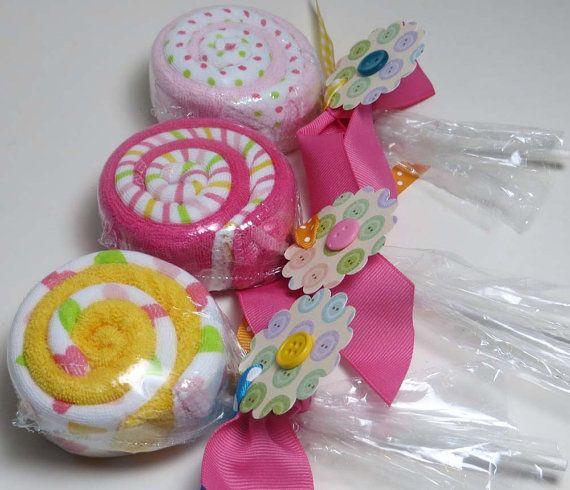 Sweet Lollipop Trio TM  Half a Dozen Soft Baby by BabySweetTreats, $15.00