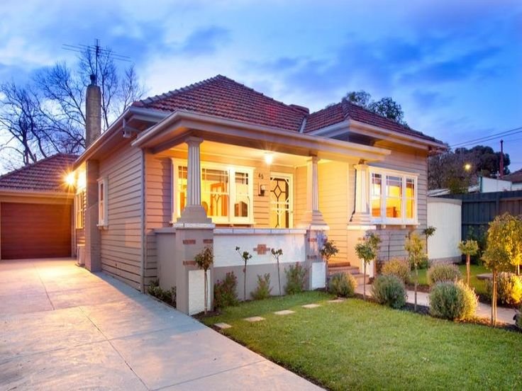 Photo of a concrete house exterior from real Australian home - House Facade photo 481748