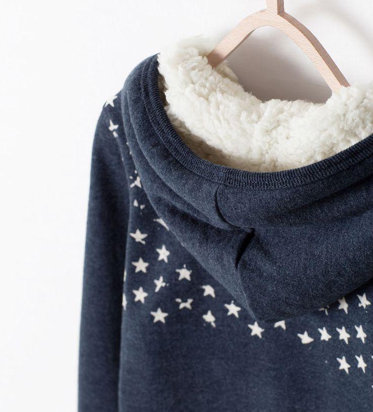Image 5 de SWEAT POCHE DOUBLURE MOUTON de Zara