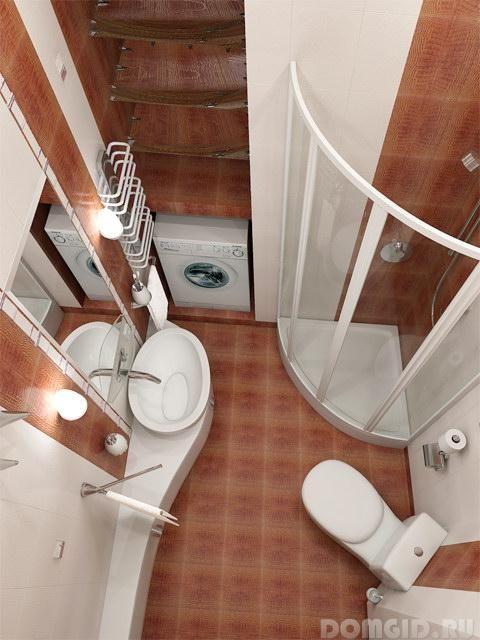 Дизайн ванной комнаты. Ремонт и перепланировка стандартного санузла