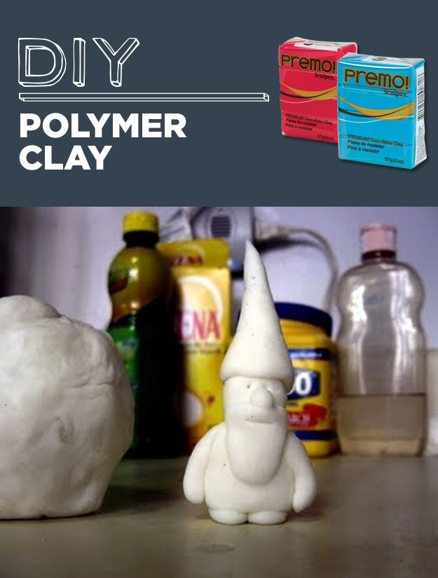 DIY Polymer Clay | 31 Household Products You'll Never Have To Buy Again