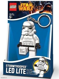 Prívesok na kľúče LEGO® LED Lite Detská svietiaca figúrka Star Wars Stormtrooper
