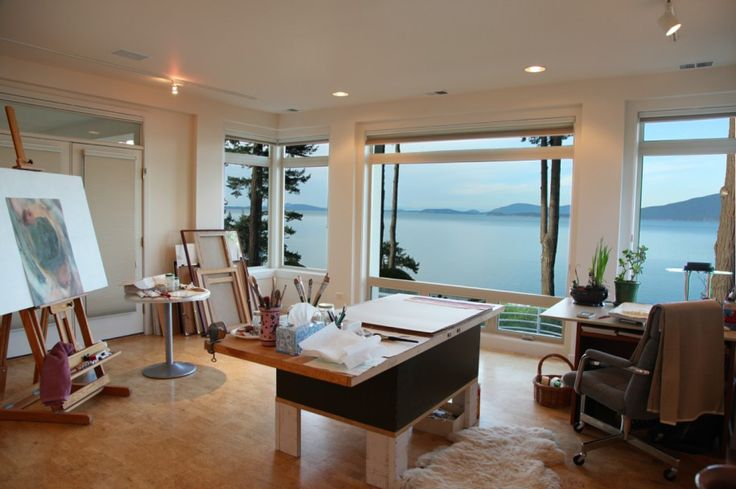 25 best ideas about Home art studios