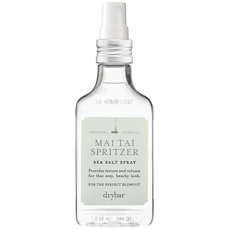 What it is:A light spray for all hair types that is enriched with natural sea salts to add texture and volume. What it is formulated to do:Mai Tai Spritzer adds soft, beachy waves for a breezy look without the drying, damaging effects of seawater. T