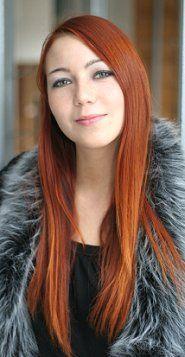 long red hair straight  hair colors ideas  long red hair
