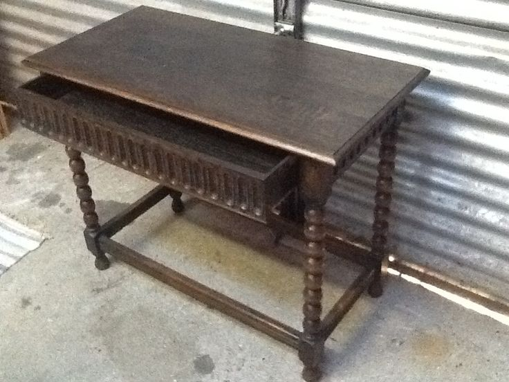 Refurbished Antique Hall Table. Another fab refurb by Collectors Corner NZ. www.collectorscornernz.weebly.com