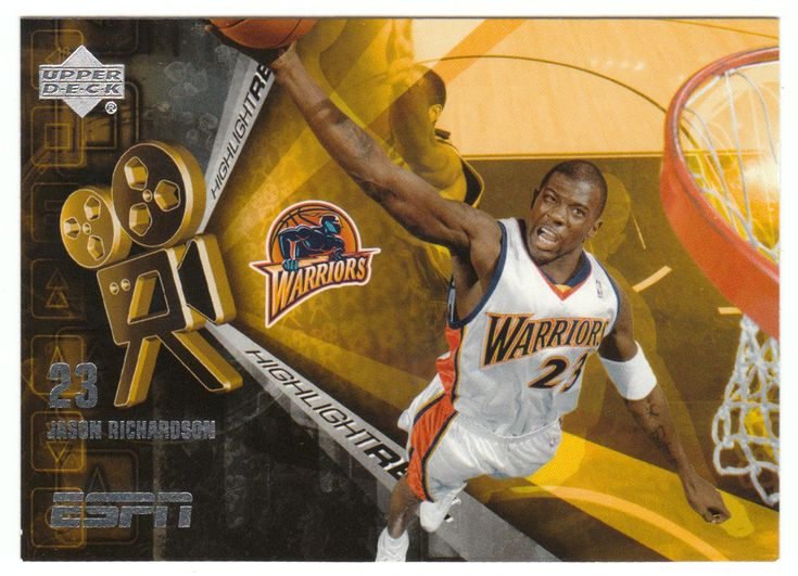 Jason Richardson # HR-6 - 2005-06 Upper Deck ESPN Basketball Highlight Reel