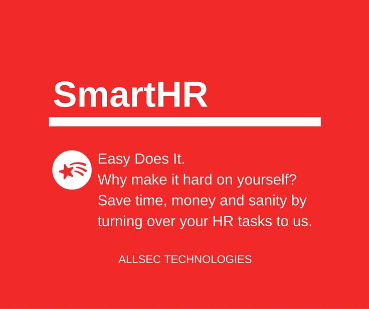 Allsec's  SmartHR is a Complete HR Management System which holds the Customizable Modules to centralize all the HR Functionalities. For more details: https://www.allsectech.com/human-resource-management-system