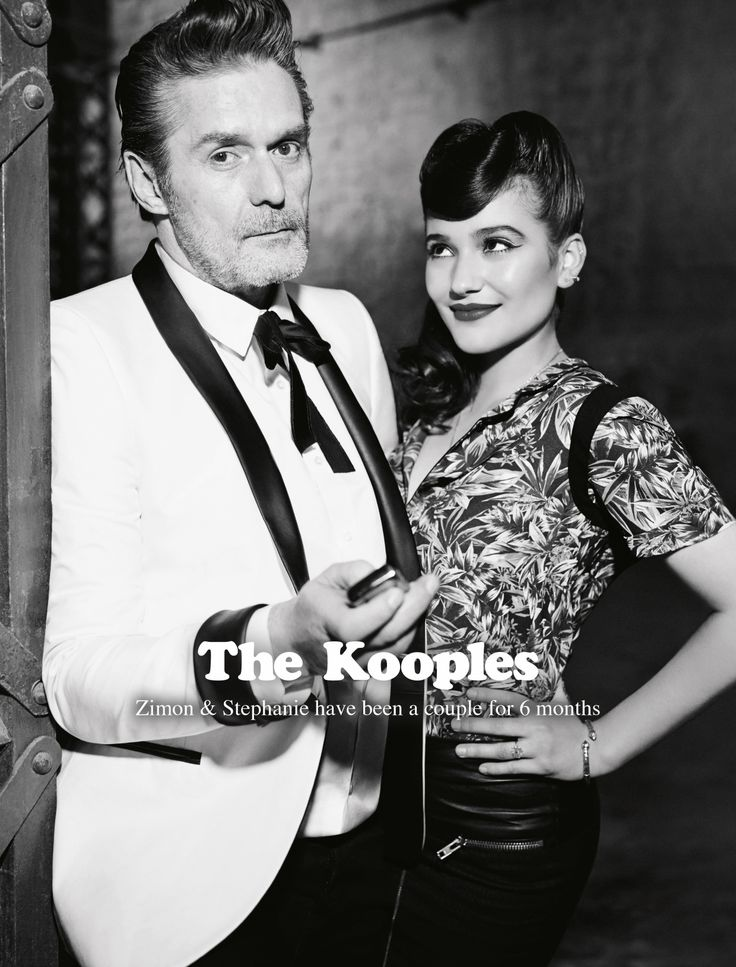 Zimon & Stephanie for The Kooples SS14