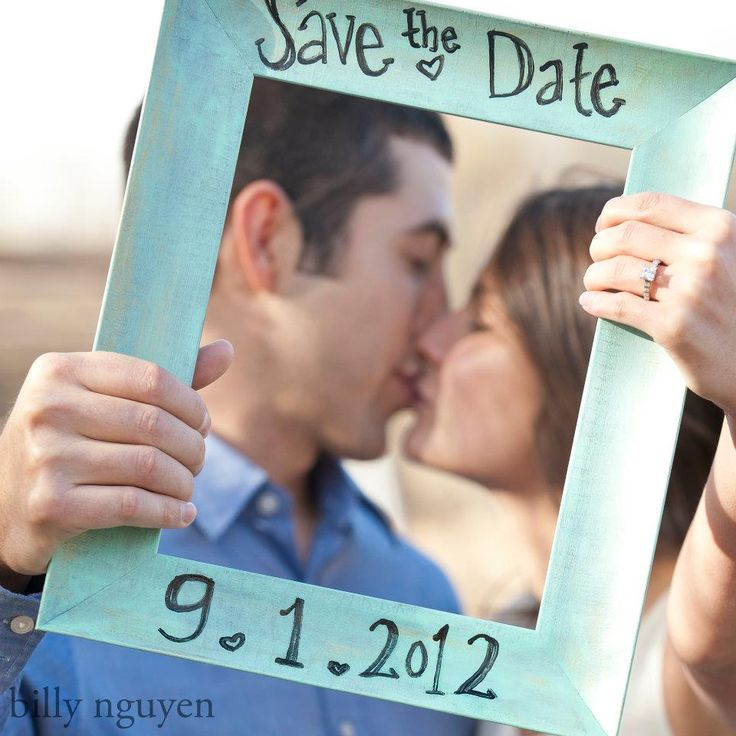 Our official save the date photo! <3