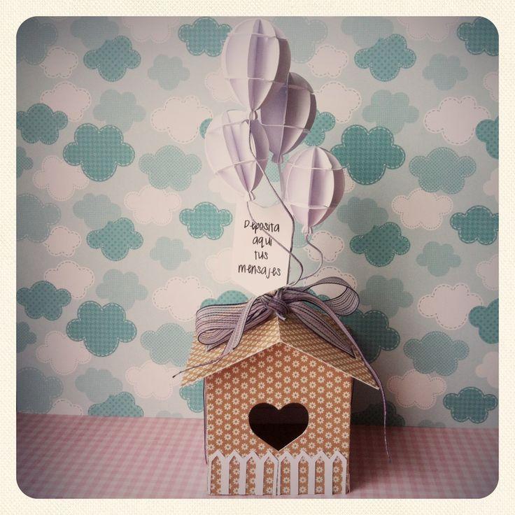 Casa de los deseos y mejor si ballena de dulces o chocolates