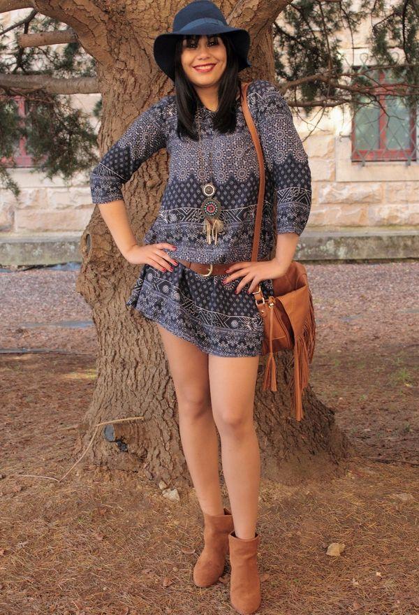 Botas y vestidos de moda | Moda en vestidos casuales