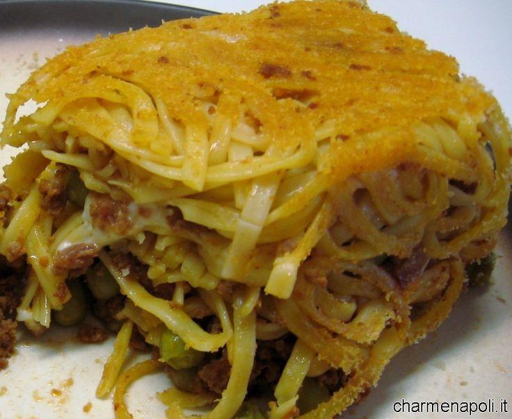 crostata timballo tagliolini