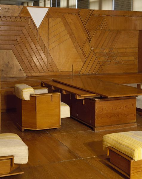 Kaufmann Office; Frank Lloyd Wright Room | Wright, Frank Lloyd | V&A Search the Collections