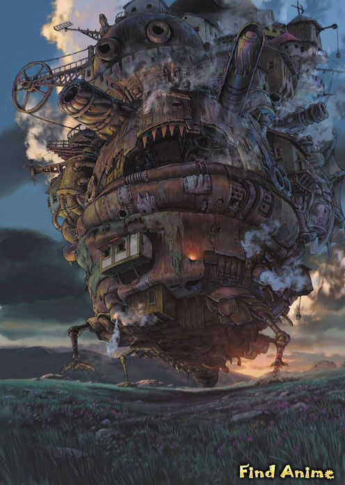 аниме Ходячий замок Хаула (Howl's Moving Castle: Hauru no Ugoku Shiro)