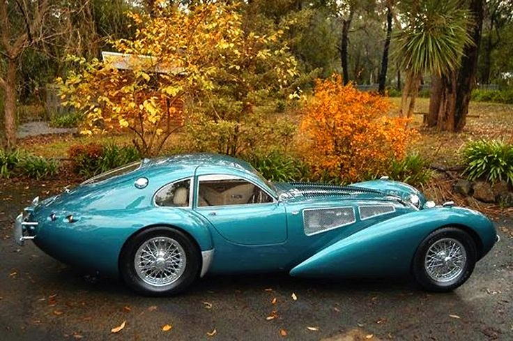 Devaux Cars are made in Australia and designed by David J. Clash (obviously influenced by Art Deco stylings of the 1930s). Here is a Devaux Coupe available for purchase for $124,000 US: