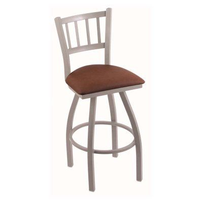 Holland Bar Stool Contessa 36 in. Extra Tall Swivel Bar Stool with Faux Leather Seat - 81036ANREIADO