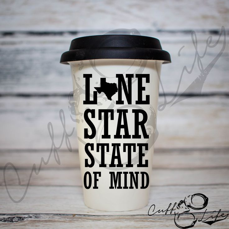Lone Star State of Mind - Travel Coffee Mug