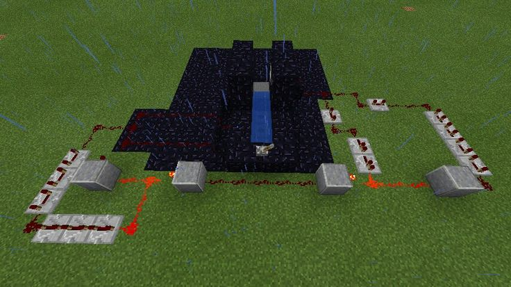 minecraft fully automatic cannon