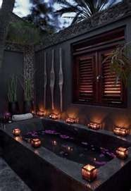 Outdoor Bath...YES PLEASE!