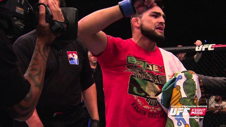 UFC 183: Connecting with Kelvin Gastelum