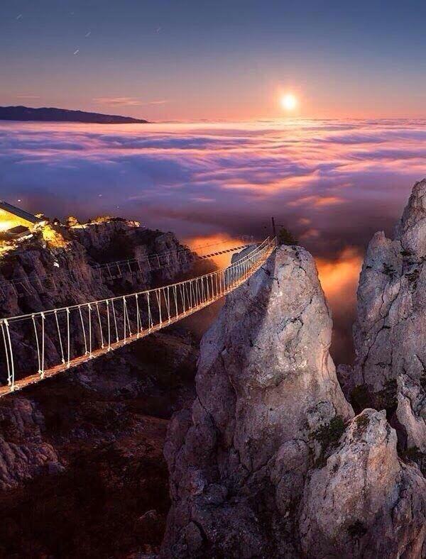 Мост в небо. Ай-Петри, Украина