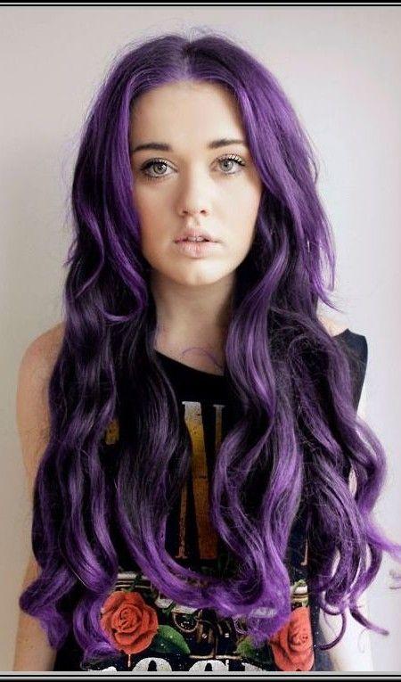 plum purple hair color 2016