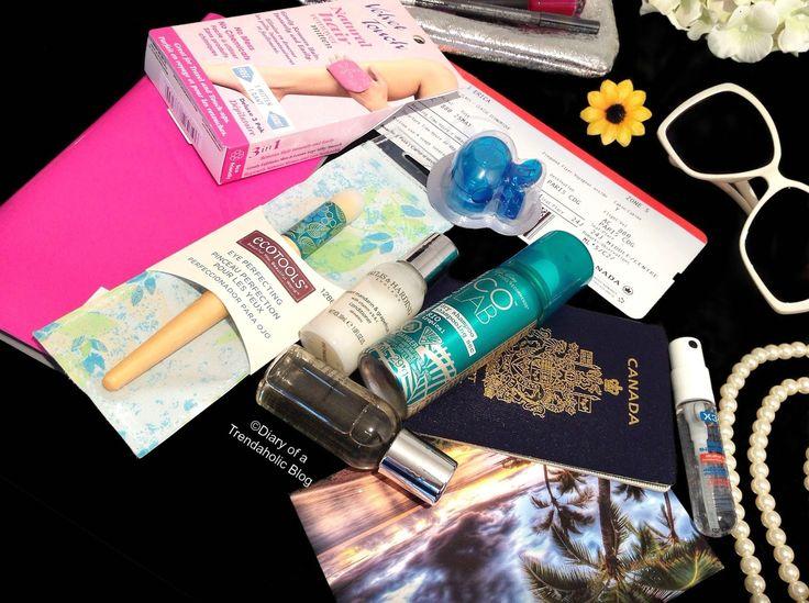 Travel Essentials post by @ericachristina features #X3Clean #HandSanitizer Spray #cleanhands