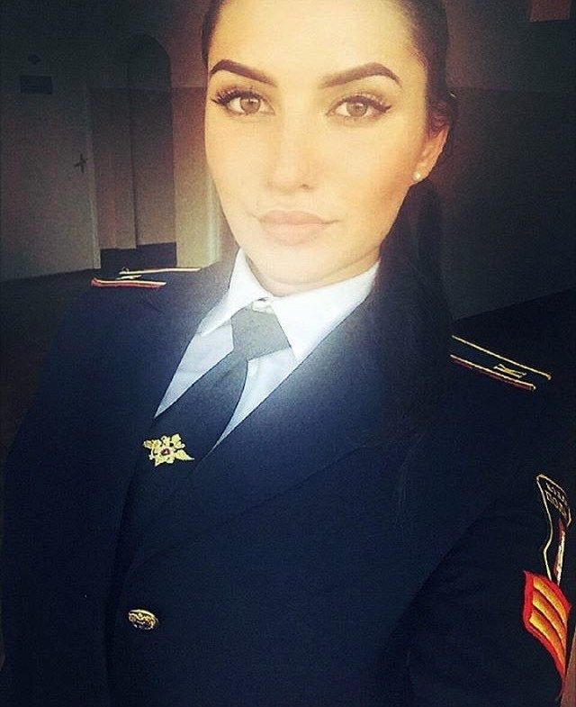 Selfie In Formal Police Uniforms