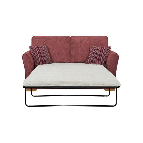 Plum Fabric Sofas 2 Seater Sofa Bed Jasmine Range Oak Furnitureland Sofa Bed 2 Seater Sofa Sofa Bed Mattress