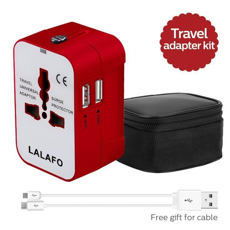 Universal Travel Adapter Traveladapter Adapter Universaladapter All In One International Universa With Images Universal Travel Adapter Travel Adapter Universal Travel