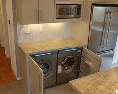 Best 25 Laundry in kitchen ideas on Pinterest