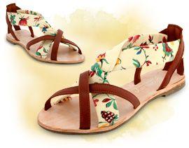 Cholesburys 'Brigitte' handmade sandals