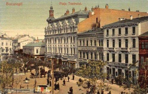 Piata Teatrului antebelica