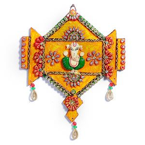 Very artistically designed ganesha wooden hanging wall art hand crafted in a wood frame with a bright orange clay work. Costs Rs 815/- http://www.tajonline.com/gifts-to-india/gifts-AR5262.html?aff=pinterest2013/