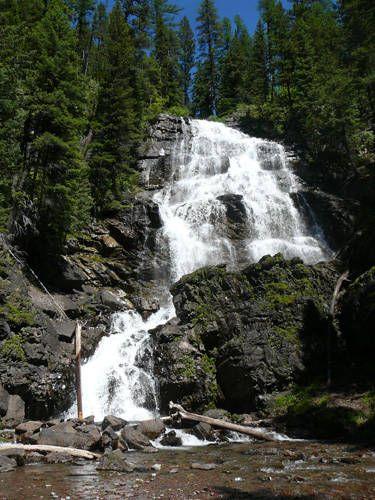 Morrell Falls - Near Seeley Lake,Montana
