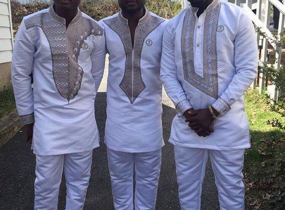Mannen Afrikaanse slijtage Afrikaanse kleding van de mannen | Etsy