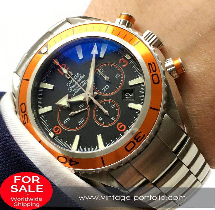 Omega Seamaster Planet Ocean Diver 600 Meter Automatic