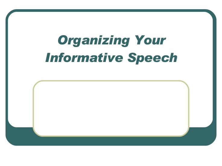 14 best speech images on Pinterest Public speaking, English - informative speech