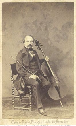 Photograph of Servais c. 1862 (Photograph, Zuidwestbrabants Museum, Belgium).