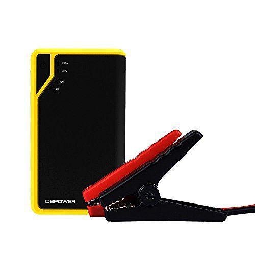 DBPOWER® DJS40 300A Peak 8000mAh Booster Batterie Portable Jump Starter Démarreur de Voiture et Fonction Batterie Externe pour des…