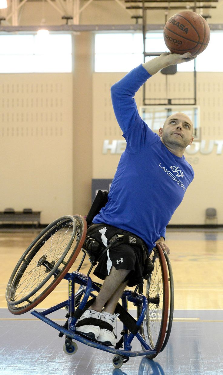 Wheelchair Basketball 101 teaches 'what you can do with a